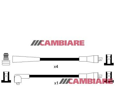 FORD CAPRI Mk2 1.6 HT Leads Ignition Cables Set 74 to 77 Cambiare Quality New