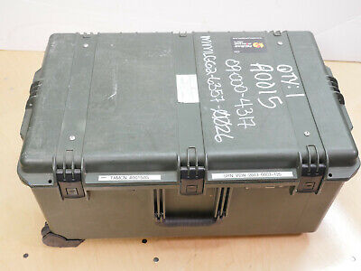 PELICAN STORM CASE iM2975with Lid Organizer Green in Color
