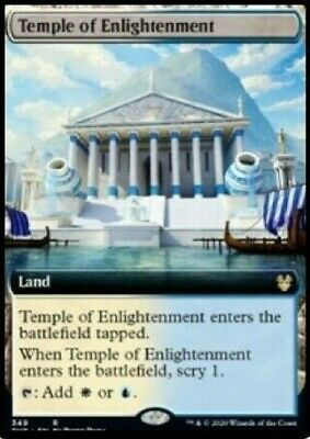 Magic: the Gathering THEROS BEYOND TEMPLE OF ENLIGHTENMENT EXTENDED ART RARE