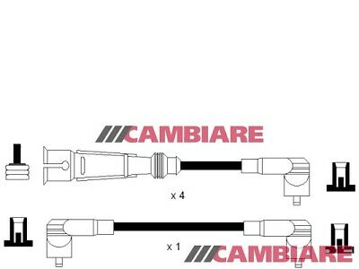VW GOLF Mk2 1.6 HT Leads Ignition Cables Set 83 to 92 VOLKSWAGEN Cambiare New