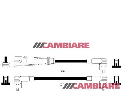 VW GOLF Mk2 1.8 HT Leads Ignition Cables Set 84 to 91 VOLKSWAGEN Cambiare New