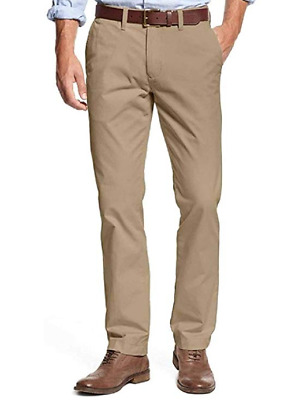Tommy Hilfiger Men's Tailored Fit Chino Pants (Incense, 40x32)