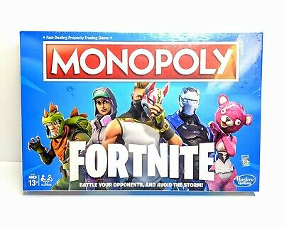 Monopoly: Fortnite Edition Board Game Inspired by Fortnite Video Game New Sealed
