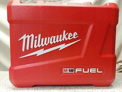 """Milwaukee*Empty Case For 2780-22 M18 Fuel 4 1/2""""/ 5"""" Paddle Grinder*18 Volt*New!"""