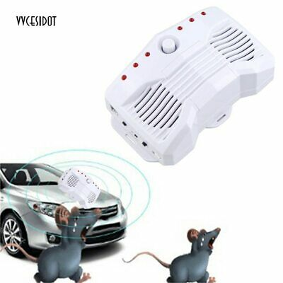 Mouse Rat Car Repeller Smart Ultrasonic Electronic Rodents Pest Auto Guard Tools