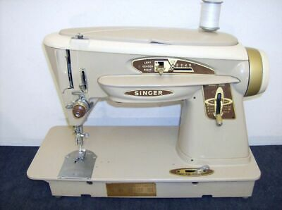 HEAVY DUTY INDUSTRIAL STRENGTH SINGER MODEL 503 SEWING MACHINE - Steel Gears -