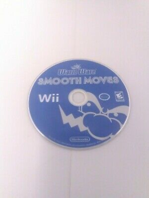 WarioWare Smooth Moves Nintendo Wii Disc Only Cleaned & Tested Fast Shipping!