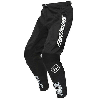 Fasthouse Grindhouse Mens Pants Moto - Black All Sizes