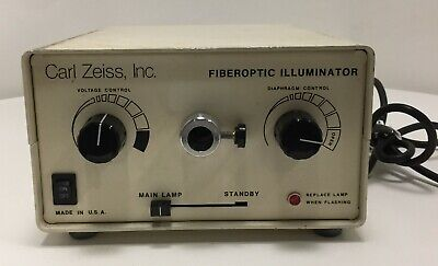Carl Zeiss Fiber Optic Illuminator 910508-9901