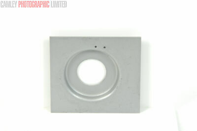 Linhof 23 Recessed Copal #00 Lens board. Graded: EXC [#9114]