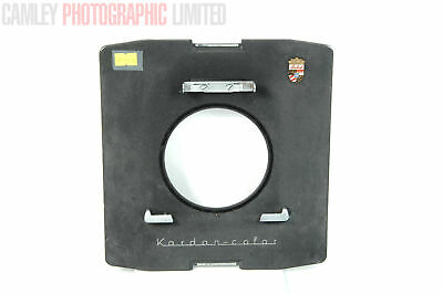 Linhof 8x10 Kardan Color Adapter Lens board. Graded: EXC- [#9170]