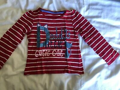 Mothercare Girls Top 18-24 Months Long Sleeved Red