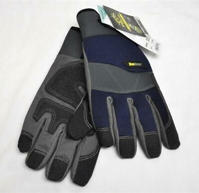 Black Stallion ToolHandz GW103 Fleece Lined Synthetic Leather Winter Gloves LG