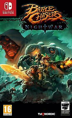 Battle Chasers Nightwar For Nintendo Switch (New & Sealed)