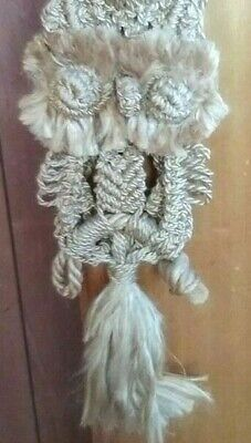 Vintage Macrame Owl. As new. Mint condition. 68 cm from top of hanger to bottom