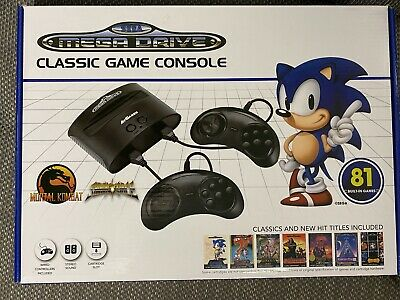 Sega Mega Drive Classic Console - 81 Games - Brand New and Sealed