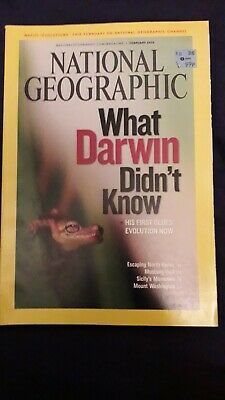 NATIONAL GEOGRAPHIC Magazine February 2009 - What Darwin Didn't Know