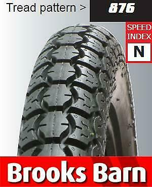 Cougar 876 3.00 - 17 Road Tubed Rear Tyre - E-Marked