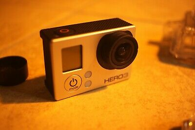 GoPro HERO3 Black Edition 12MP HD - with VIDEO monitor and accessories