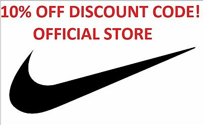 Nike 10% Off Official Store, Instant Discount Code - Uk Only