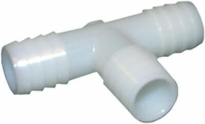 Nylon LASCO 19-9561 Tee Barb Fitting with 3//8-Inch Insert and 1//2-Inch Male Pipe Thread