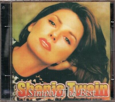 Shania Twain CD Simply The Best Brand New Sealed
