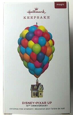 Hallmark Keepsake Ornament 2019-Disney-Pixar UP-10th Anniversary-Features Sound