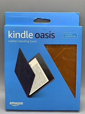 Amazon Kindle Oasis Leather Standing Cover, for 9th Gen TAN/BROWN