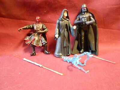 Star Wars/Clone Wars Figure lot: Not a Pretty Picture