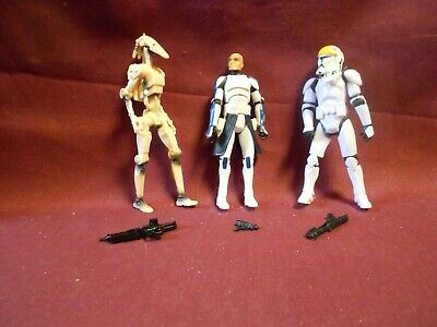 Star Wars/Clone Wars Figure lot: 501st in Action