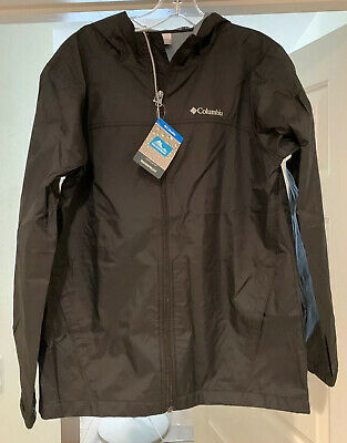 Columbia Men's Glennaker Lake Rain Waterproof Jacket - XL Youth Black