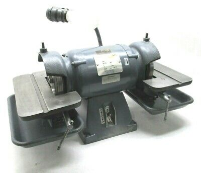 "BALDOR 6"" CARBIDE TOOL GRINDER w/ DIAMOND WHEELS - #500"