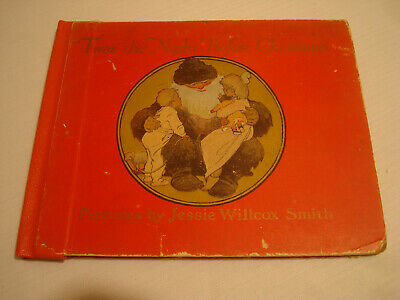 Twas The Night Before Christmas Book, 1912, Clement Moore