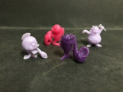 Cereal Toy R&L Deep Sea Band 1969 Lot Of 4 #4,5,7 & 8