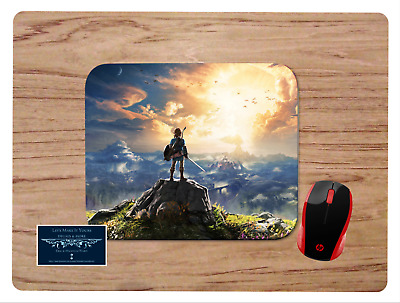 Legend Of Zelda Breath Of The Wild Mousepad Mouse Pad Home Office Gift