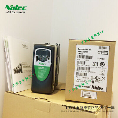 Nidec inverter SKBD200150 single-phase 220V 1.5KW output frequency 0-550HZ