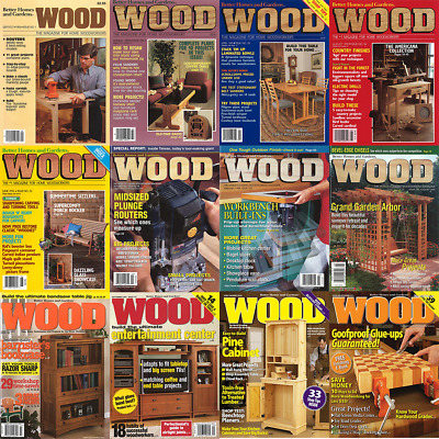 Wood Magazine 209 PDFs Total on 2 DVDs