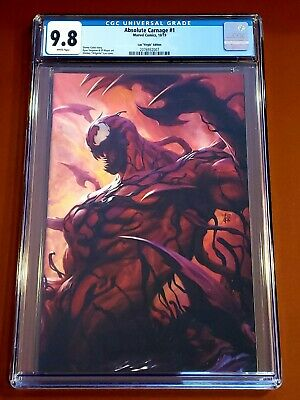 Absolute Carnage #1 CGC 9.8🔥 1:500 Artgerm Virgin Variant🌟Donny Cates