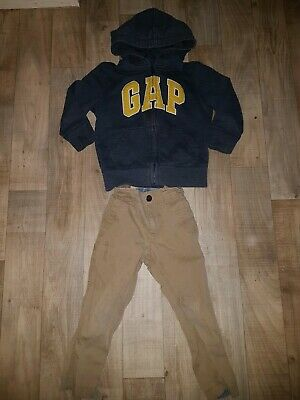 Boys Age 3 Years Gap Bundle Trousers And Zipped Hoodie