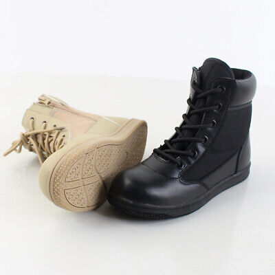 AU Kids Child Boys Girls Tactical Combat Boots High Top Shoes Military Outdoor