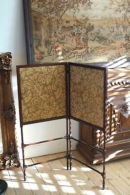 Antique Material Screen Room Divider