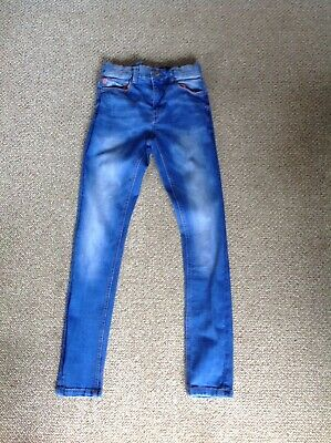 Next Blue Super Skinny Boys Jeans Age 12 Years.