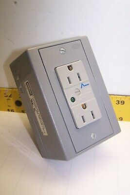New Hubbell Surge Protection Receptacle 15 Amp 125 Vac 400 Vac Peak Drubtvss15