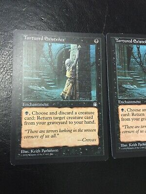 Excellent+ 1x Tortured Existence ~ Stronghold Magic MTG