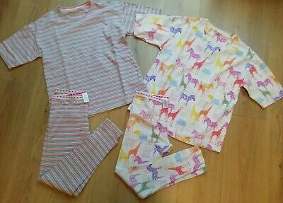 Girls NEXT Pyjamas x 2 Bundle age 13 PJs Set