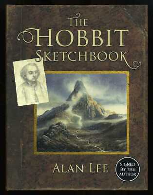 Alan Lee - The Hobbit Sketchbook; SIGNED 1st/1st