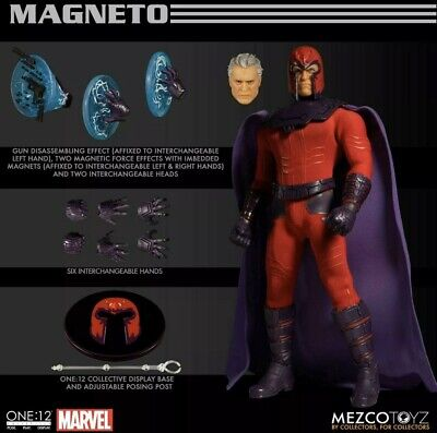 Mezco One:12 Collective Marvel Magneto Action Figure NEW IN STOCK