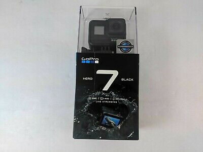 New GoPro HERO7 Black 12 MP Waterproof 4K Camera Camcorder - NJ0561