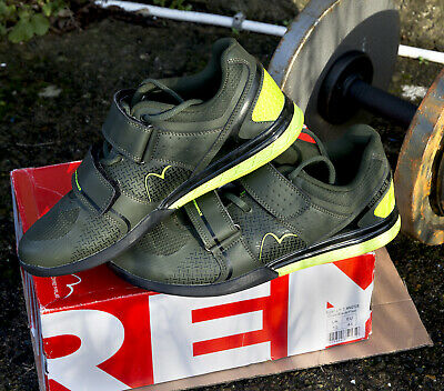 Green-9.5 More Mile Super Lift 3 CrossFit//Weightlifting Shoes