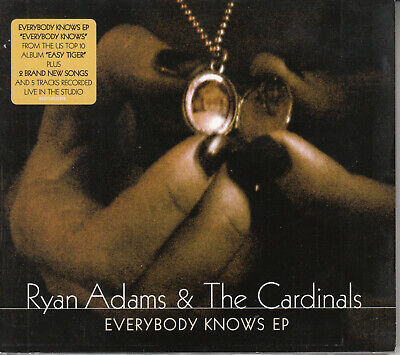 Ryan Adams & The Cardinals - Everybody Knows EP CD 2007 Digipak Country Rock